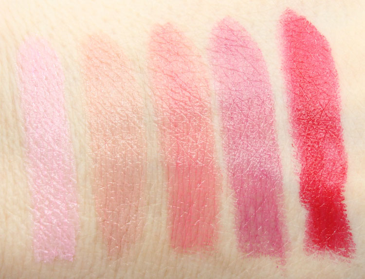 essence Longlasting Lipsticks Swatches