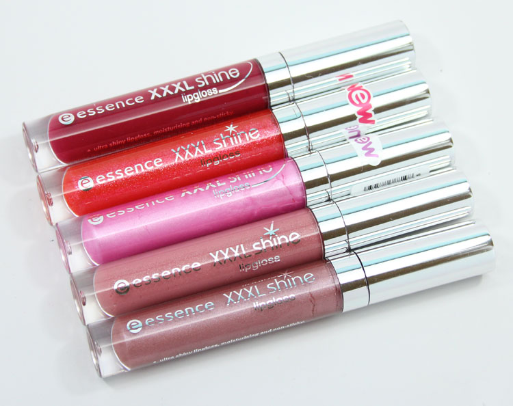 essence cosmetics XXXL Shine Lipgloss