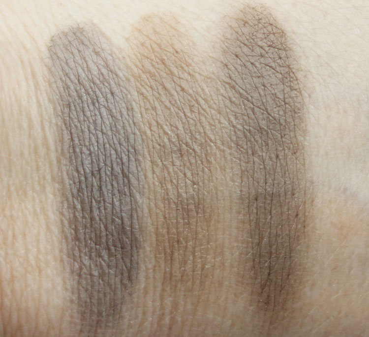 Favorite Eyebrow Products Swatches-2