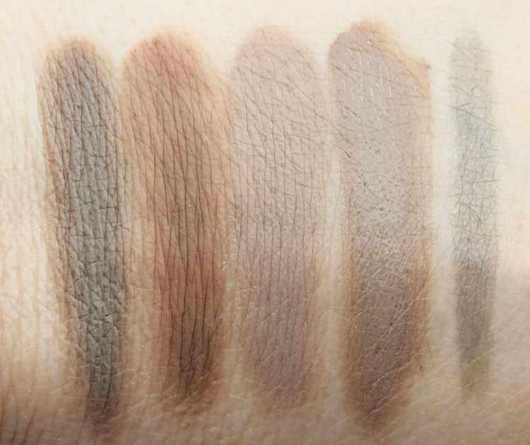 Favorite Eyebrow Products Swatches