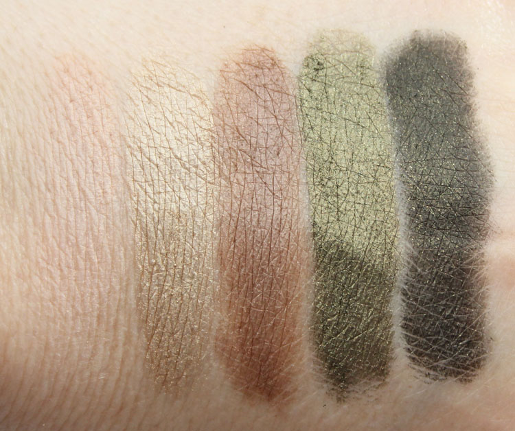 Hourglass Modernist Eyeshadow Palette in Color Field Swatches
