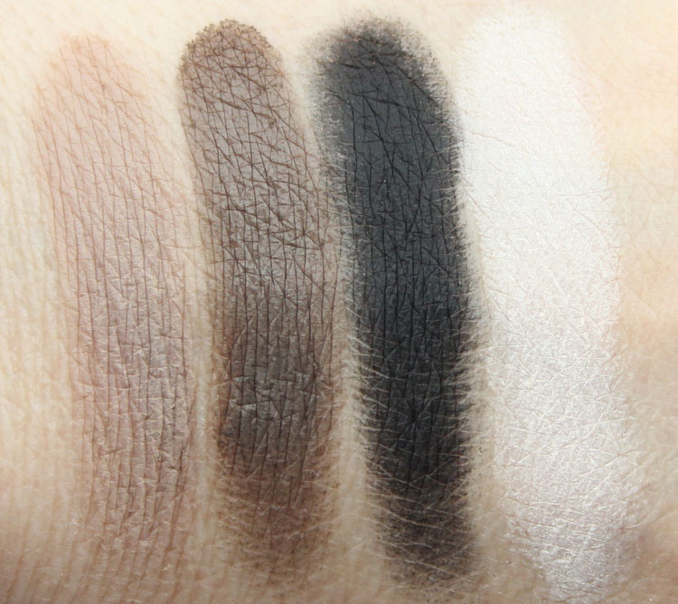 Kat Von D Shade + Light Eye Contour Palette Cool Quad Swatches