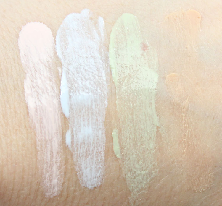Make Up For Ever Skin Equalizer Swatches