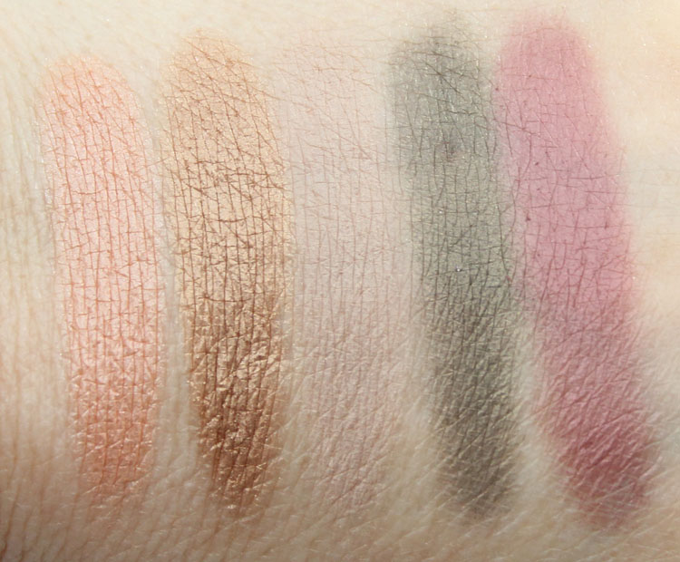 Pacifica Power Of Love Eyeshadow Palette Swatches