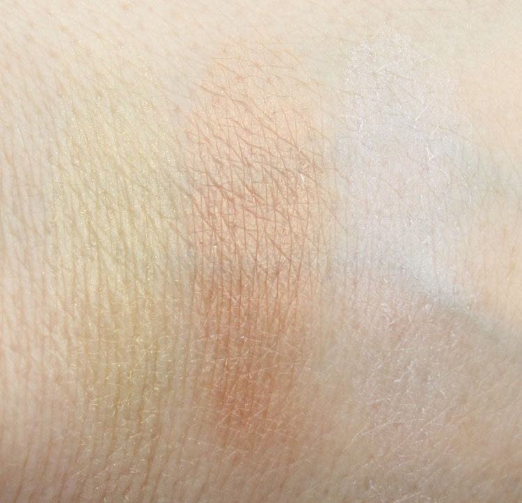 Too Faced Selfie Powders Swatches