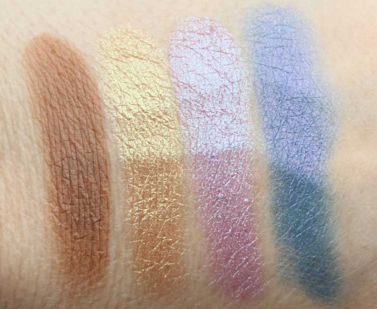 Urban Decay Eyeshadow Beware, Sideline, Tonic, Dive Bar