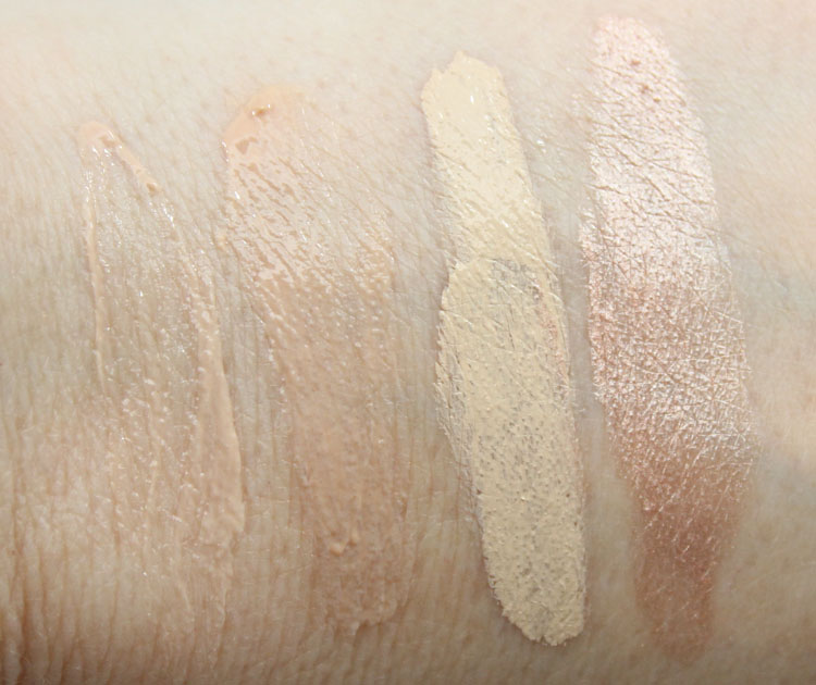 Urban Decay Eyeshadow Primer Potion Swatches