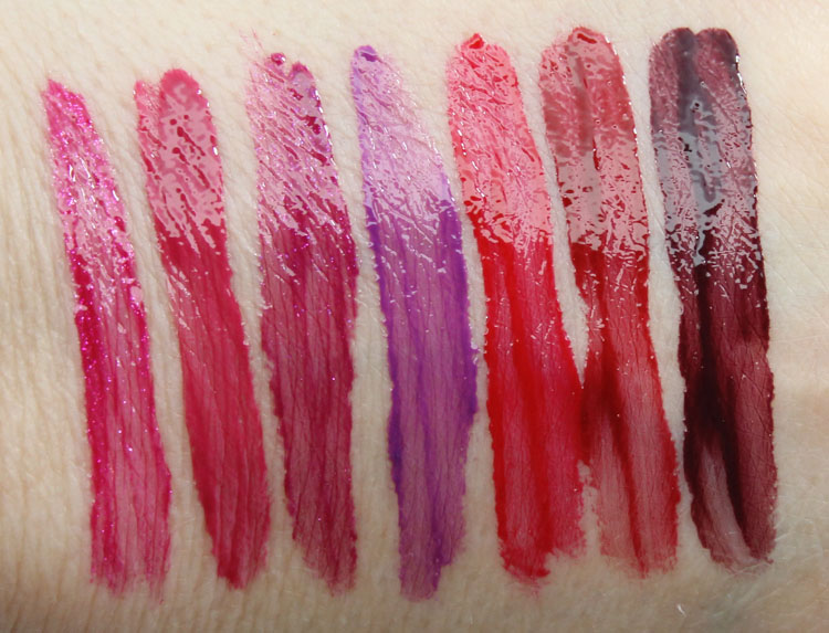 Urban Decay Revolution High-Color Lipgloss Big Bang, Quiver, Vice, Bittersweet, 69, Brickhouse, Apocalypse