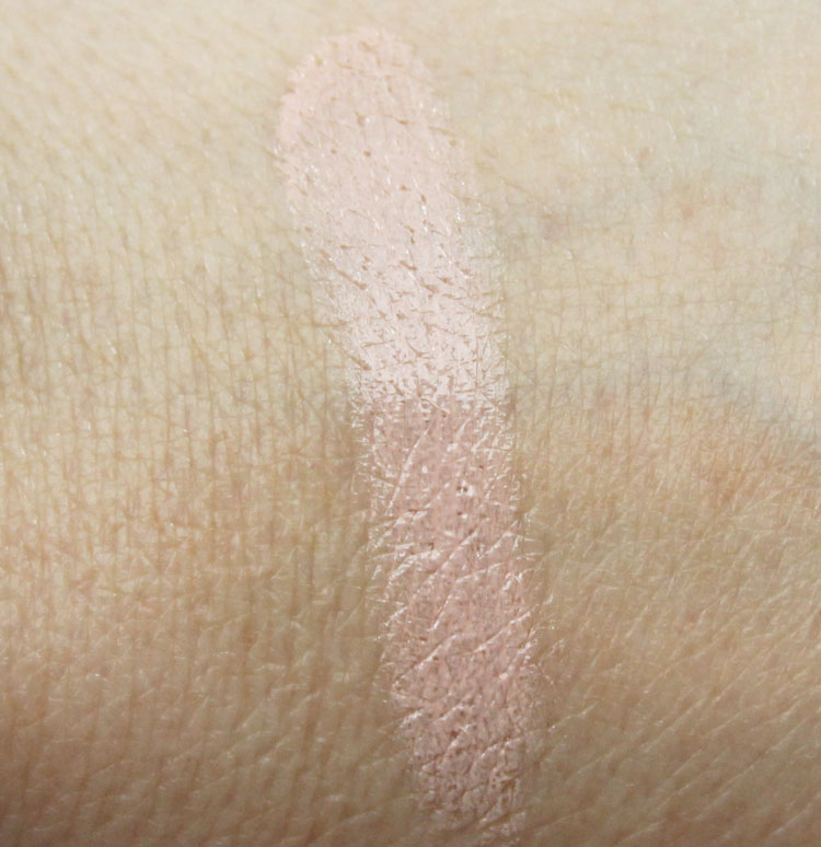 Becca Under Eye Brightening Corrector Swatch