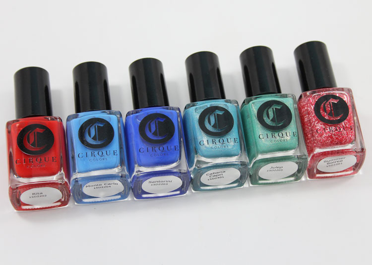 Cirque Colors Nordstrom Poolside Collection