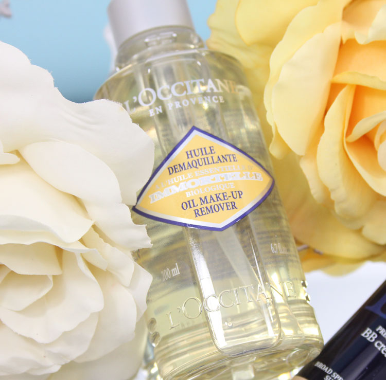 LOccitane Immortelle Oil Makeup Remover