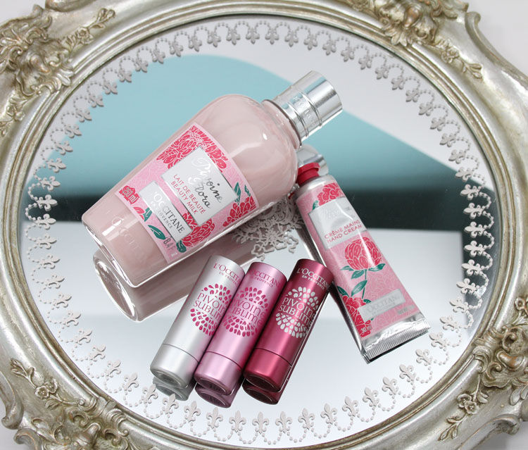 LOccitane Peony Collection