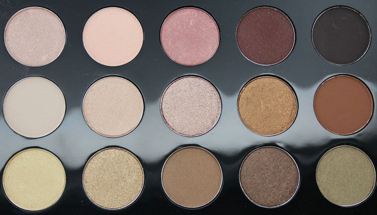 MAC Eyeshadow x 15 Warm Neutral-3