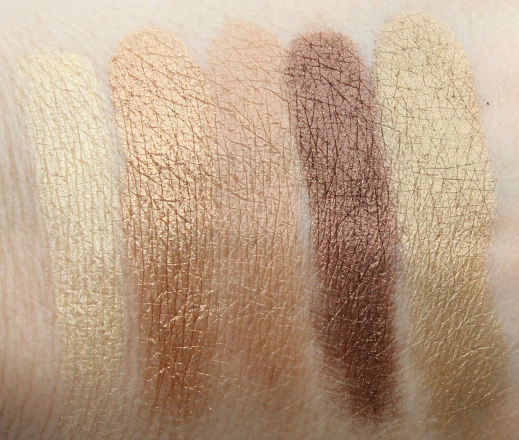 MAC Eyeshadow x 15 Warm Neutral Swatches-3