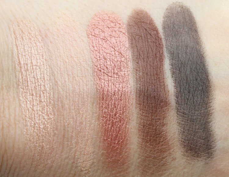 MAC Eyeshadow x 15 Warm Neutral Swatches