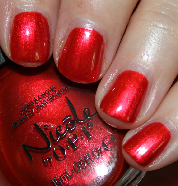 Nicole by OPI Always a Classic Coca-Cola