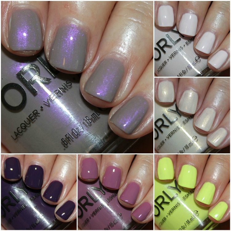 Orly Sugar High Collection for Spring 2015
