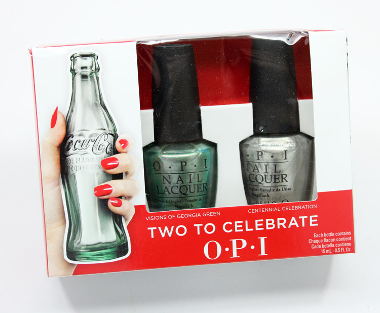 Coca Cola OPI Collection Summer 2015