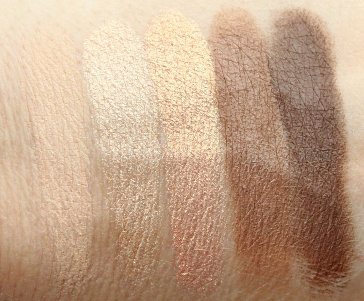 LORAC Unzipped Gold Eye Shadow Palette Swatches