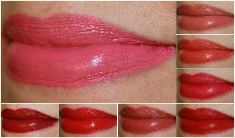 Matte(e) Hughes Long-Lasting Liquid Lipstick Collage