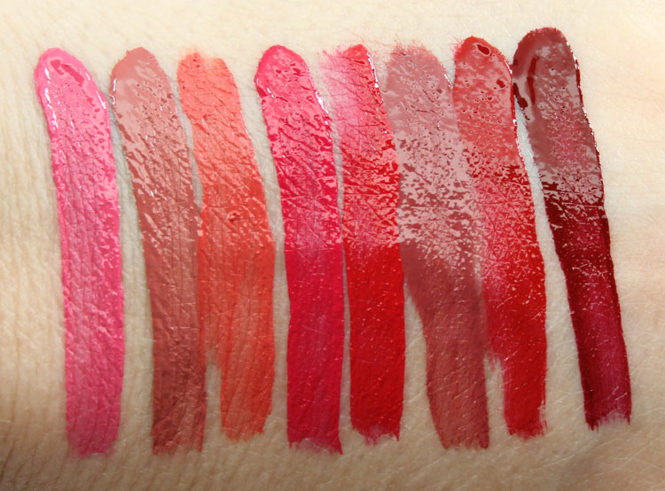 Matte(e) Hughes Long-Lasting Liquid Lipstick Swatches