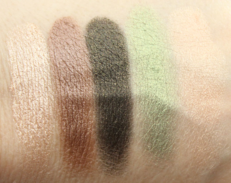 Too Faced Love Palette Forbidden Love Swatches