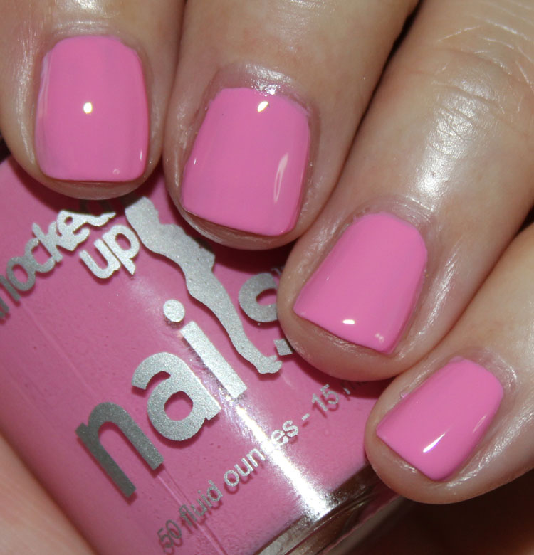 Knocked Up Nails Preggers In Pink