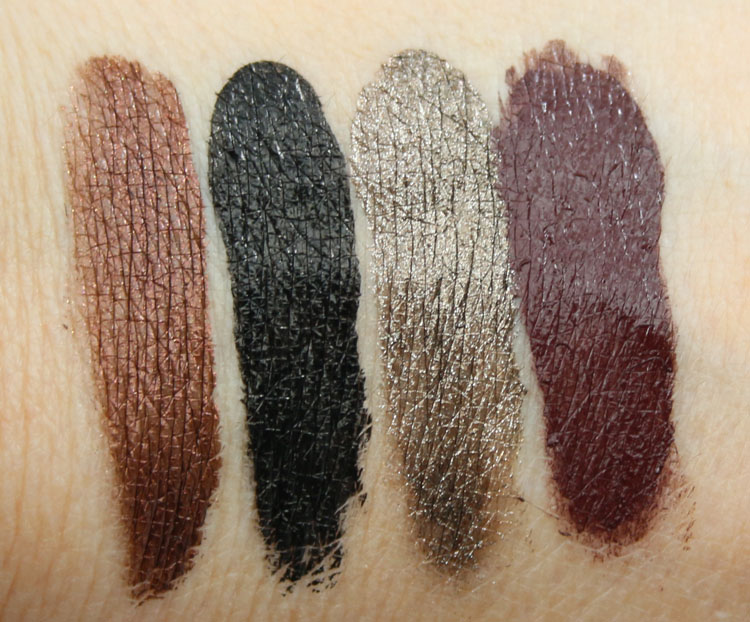 Stila Got Inked Cushion Eye Liner Copper Ink, Black Obsidian Ink, Smoky Quartz Ink, Garnet Ink
