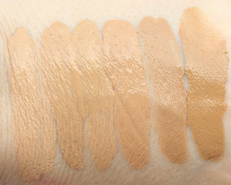 Too Faced Born This Way Absolute Perfection Foundation Swatches-2