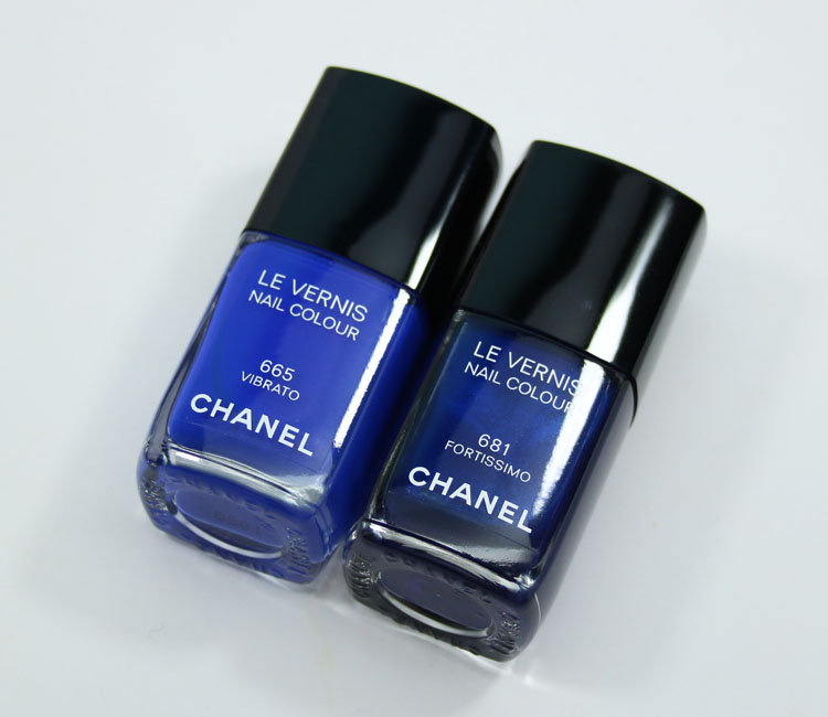 Chanel Vibrato and Fortissimo Le Vernis Nail Colours