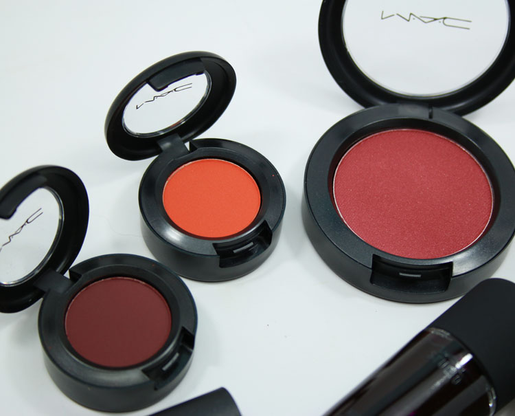 MAC MACnificent Me! Eye Shadows and Blush