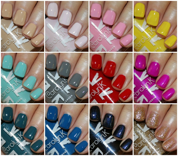 Carolyn.K Nail Paints