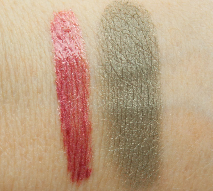 NARS Fast Life Lip Gloss, Never Too Late Eyeshadow