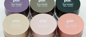 Pur Cosmetics Eye Polish Swatches & Review
