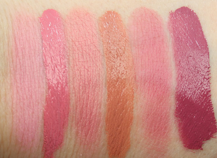 Too Faced Melted Kisses & Sweet Cheeks Swatches