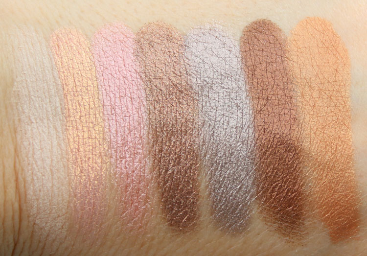 Too Faced Paris In Love Swatches