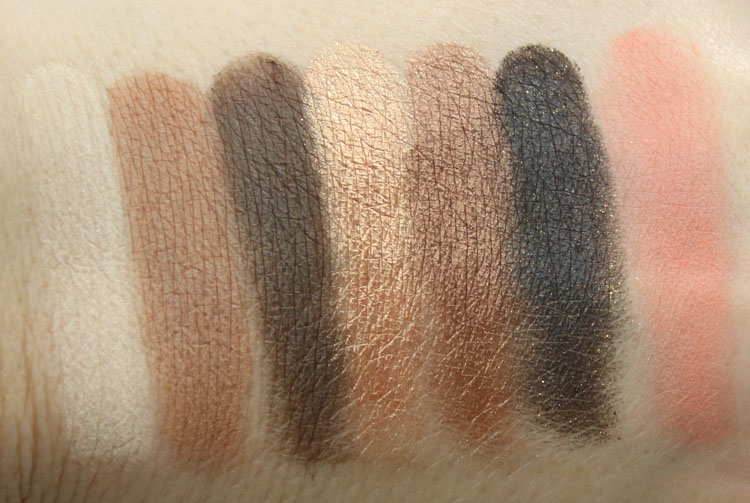 Too Faced Paris au Naturale Swatches
