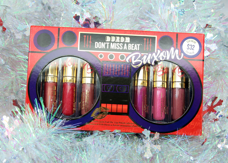 Buxom Dont Miss A Beat for Holiday 2015