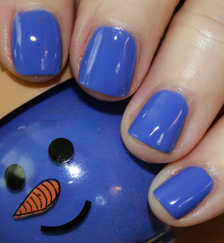 Ice Cream Cone Nail Color Blue