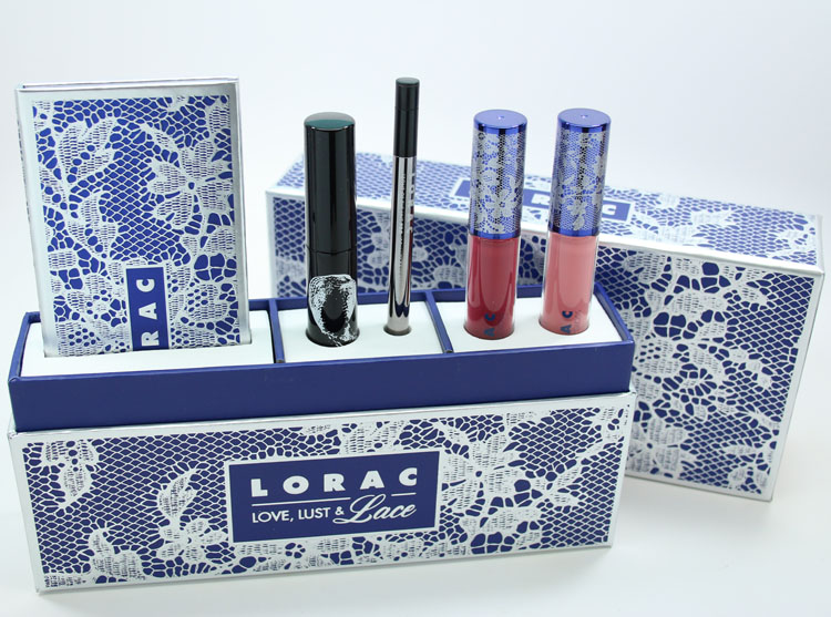 LORAC Love, Lust & Lace Full Face Collection for Holiday 2015-2