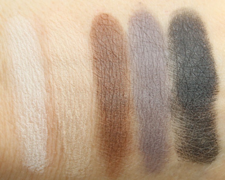 LORAC Love, Lust & Lace Matte Eye Shadow Palette Swatches