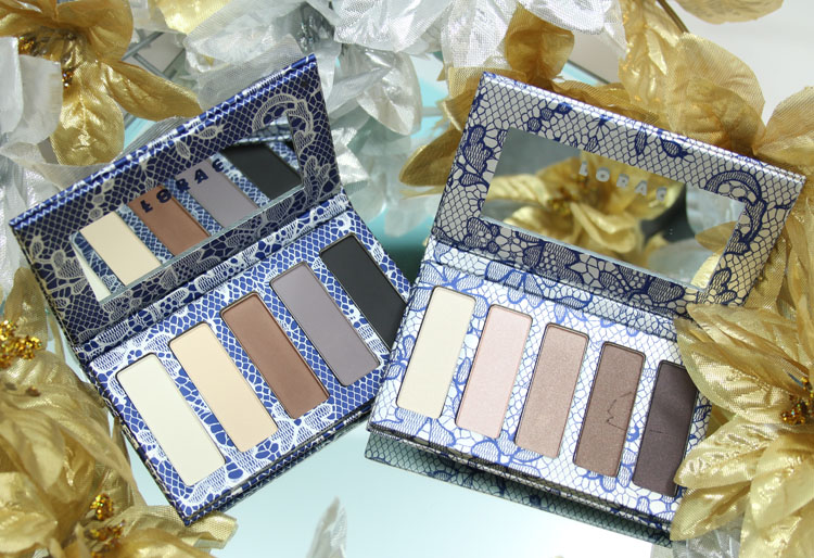 LORAC Love, Lust & Lace Matte & Shimmer Eye Shadow Palettes for Holiday 2015-2