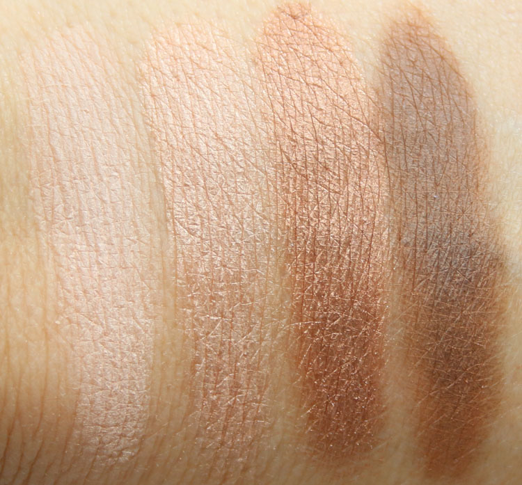 LORAC Riesling Romance Eye Shadow Palette Swatches