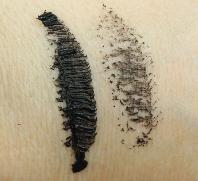 MAC Haute & Naughty Too Black Lash Swatch