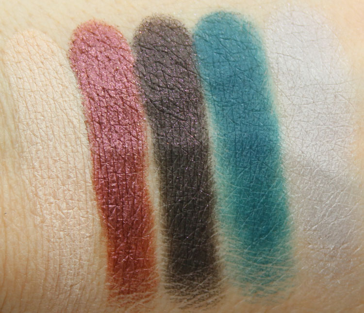 Make Up For Ever 15 Artist Shadow Palette Swatches-2