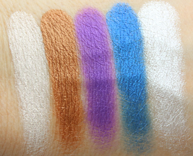 Make Up For Ever 15 Artist Shadow Palette Swatches-3