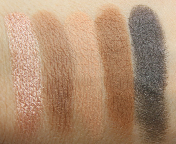 Urban Decay Gwen Stefani Eyeshadow Palette Swatches-2