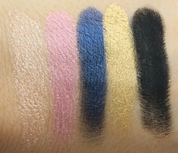 Urban Decay Gwen Stefani Eyeshadow Palette Swatches-3