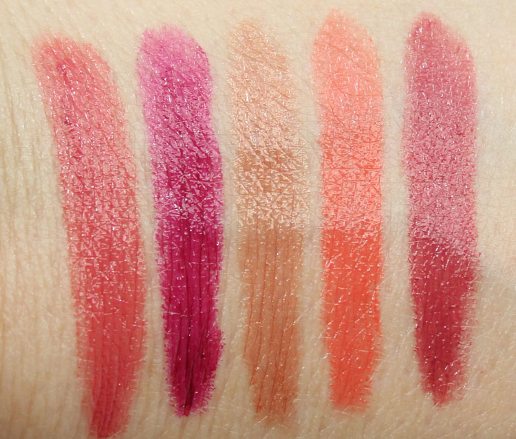 bareMinerals Love At First Kiss Swatches