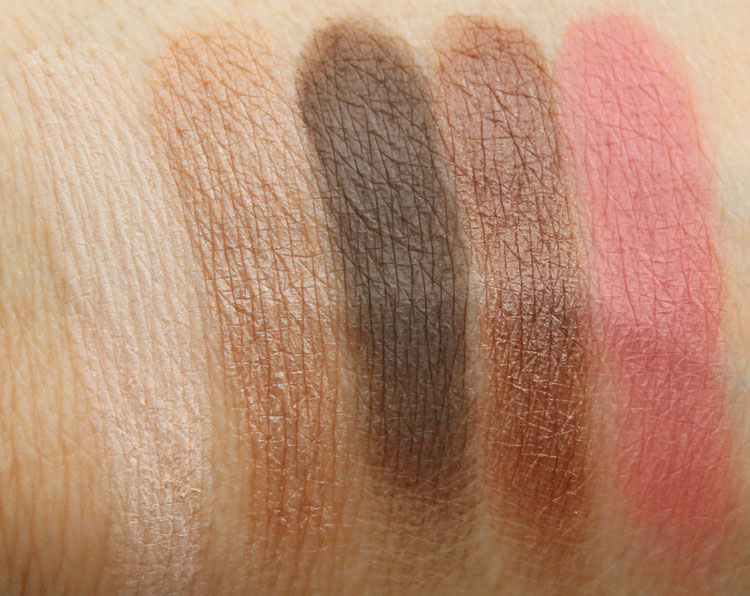 tarte Home for the Holidaze Swatches-4